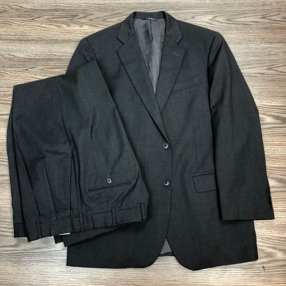 Brooks Brothers Other - Brooks Brothers 1818 Madison Charcoal Grey Suit 42